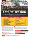 Call for Application for Admission into 2021/22 SESSION